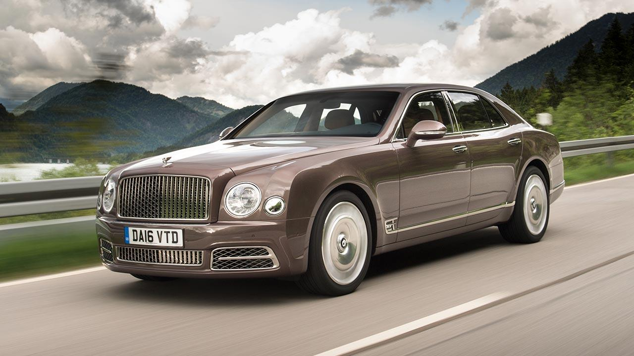 Bentley Mulsanne - mit Bergpanorama