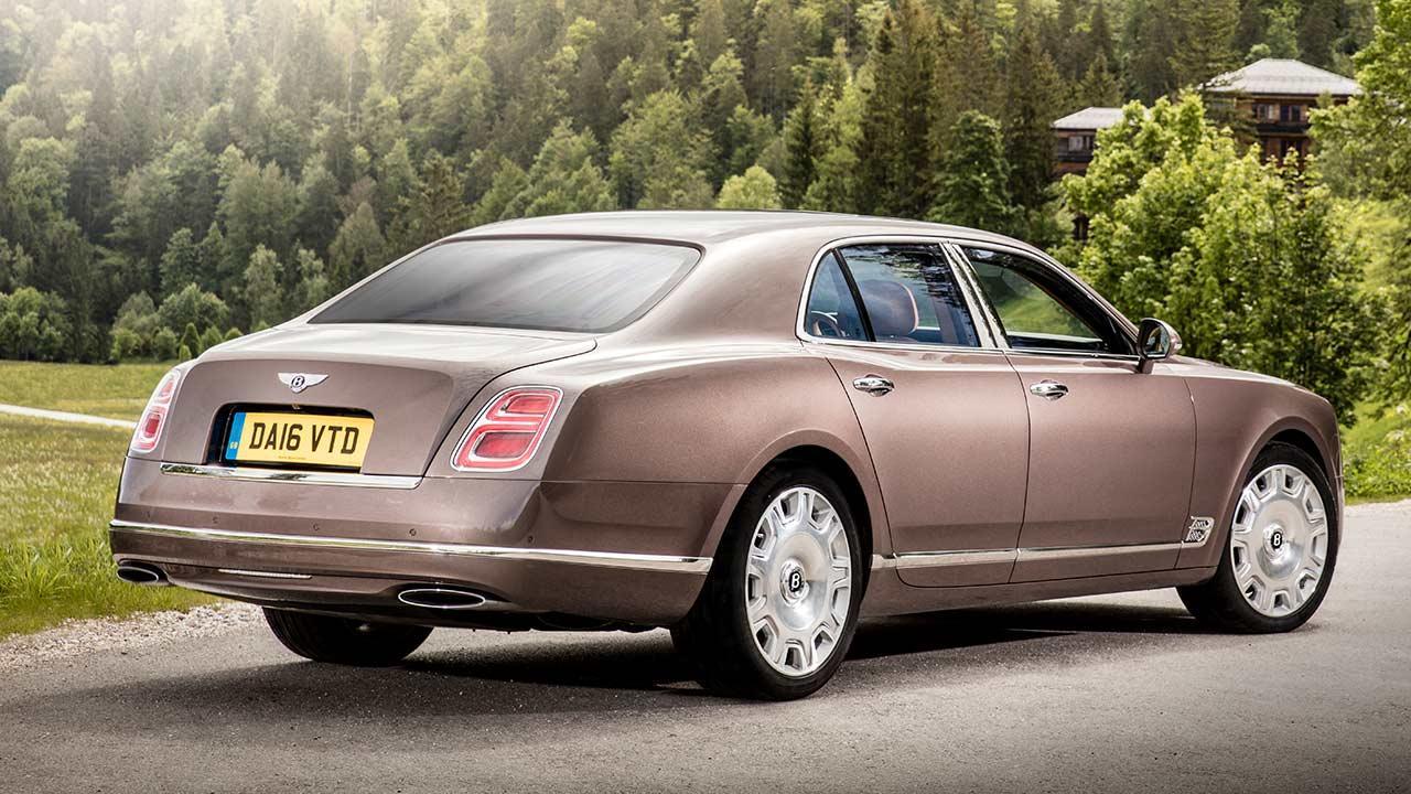 Bentley Mulsanne - Rückansicht