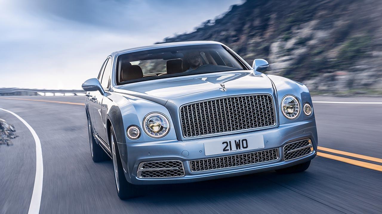 Bentley Mulsanne - Frontansicht mit Kühlergrill