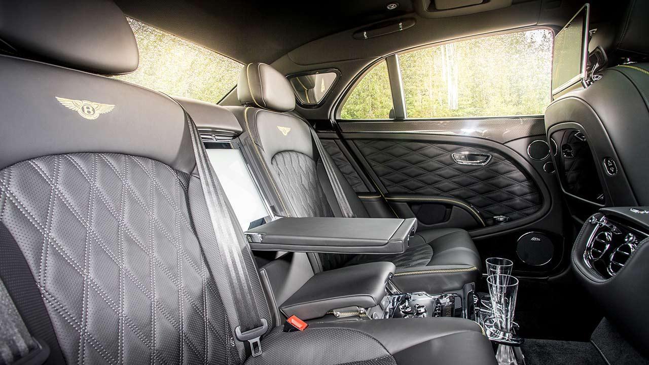 Bentley Mulsanne Speed - Rücksitze