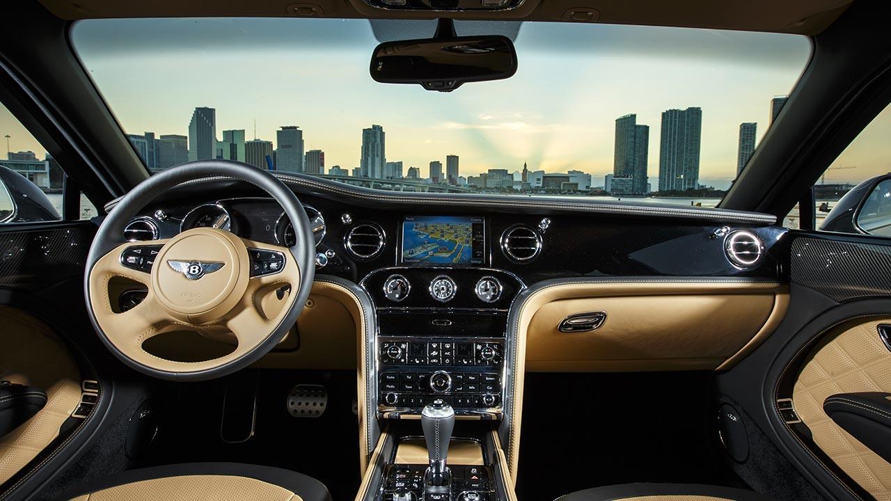 Bentley Mulsanne Speed - Cockpit