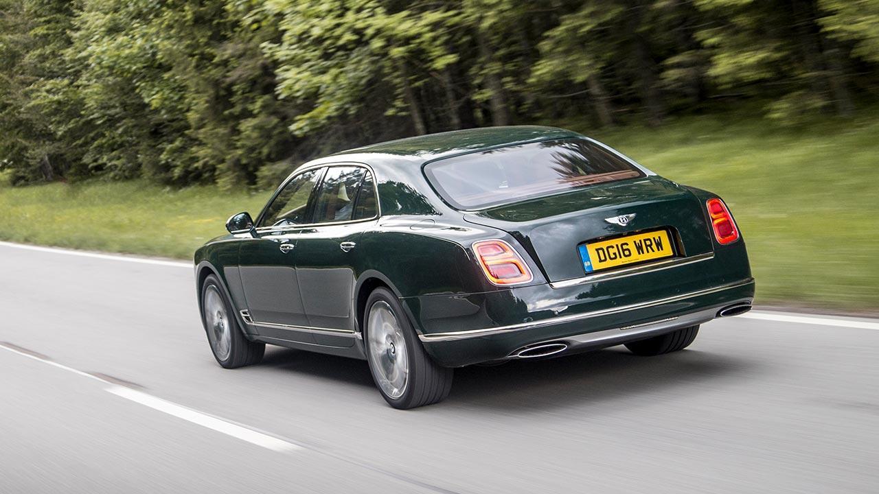 Bentley Mulsanne Speed - Heckansicht