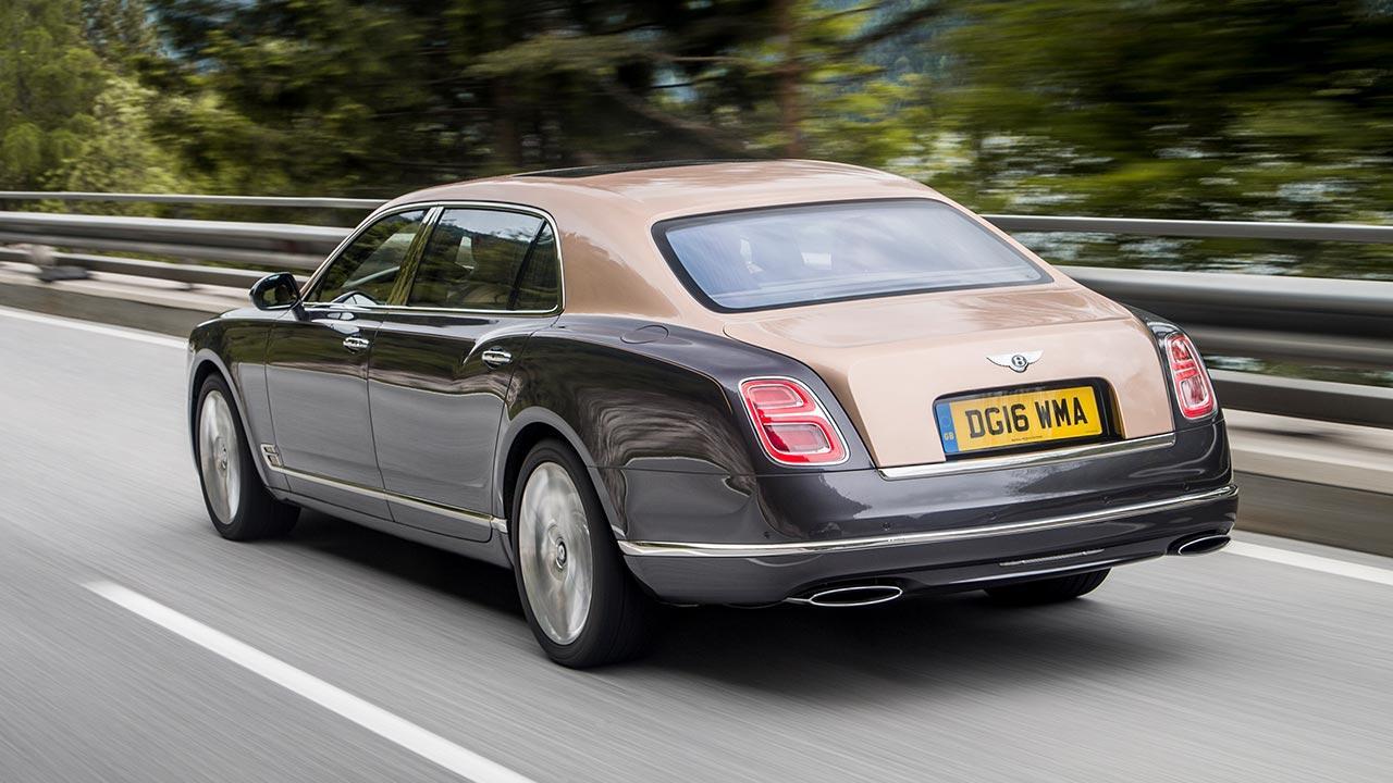 Bentley Mulsanne Extended Wheelbase - Heckansicht