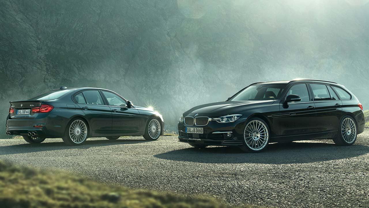 Alpina B3 S Bi-Turbo Limousine und Kombi