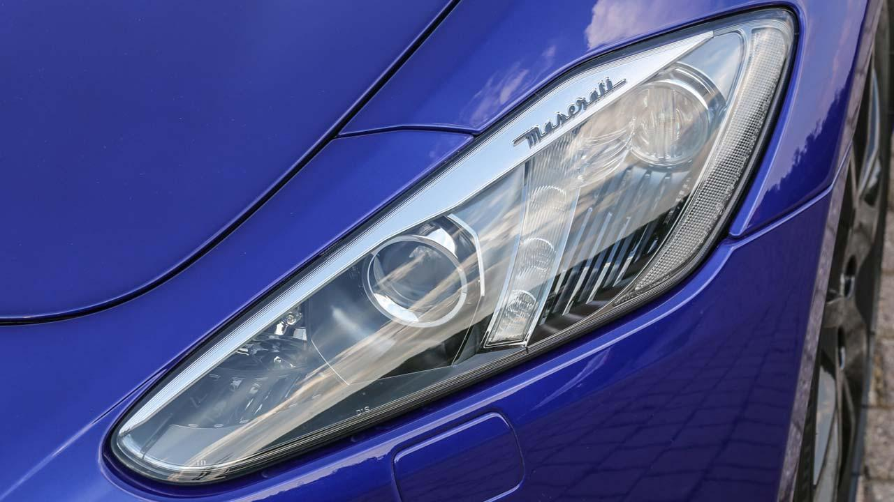 Maserati Gran Turismo - Scheinwerfer