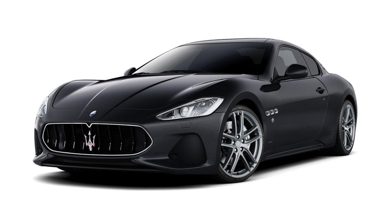 Maserati Gran Turismo - in Schwarz