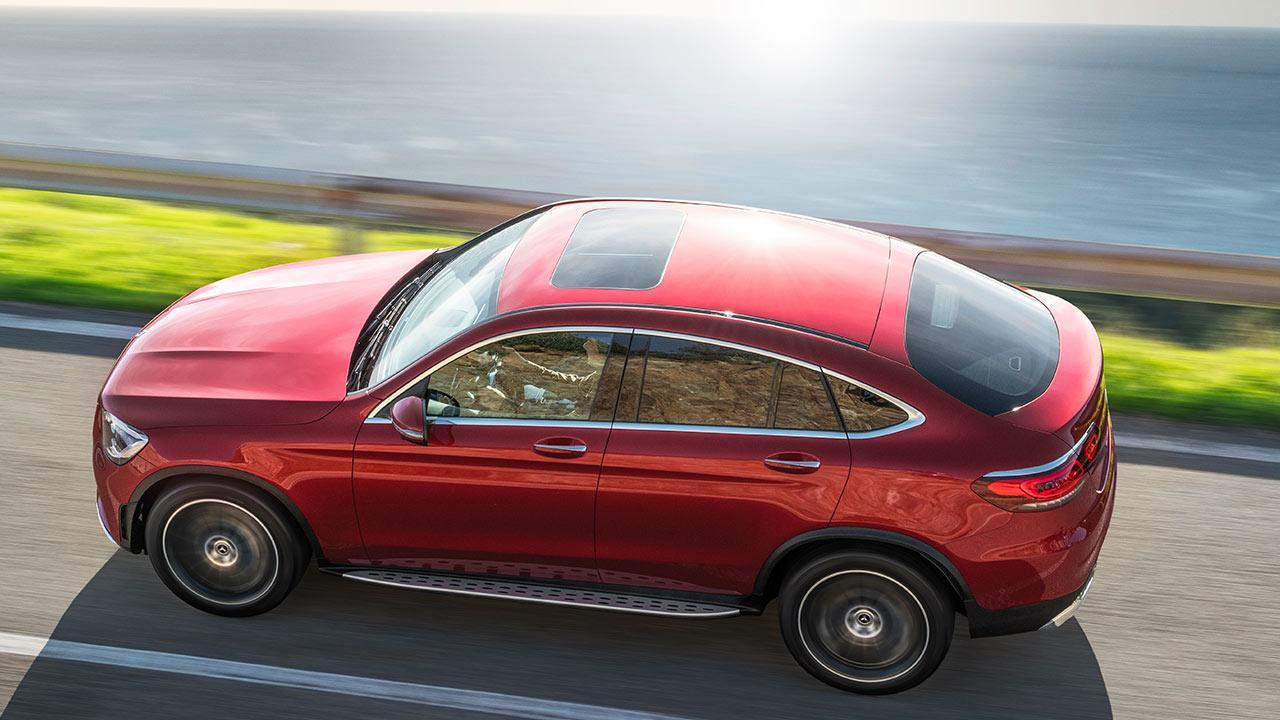 Mercedes-Benz GLC Coupé - von oben