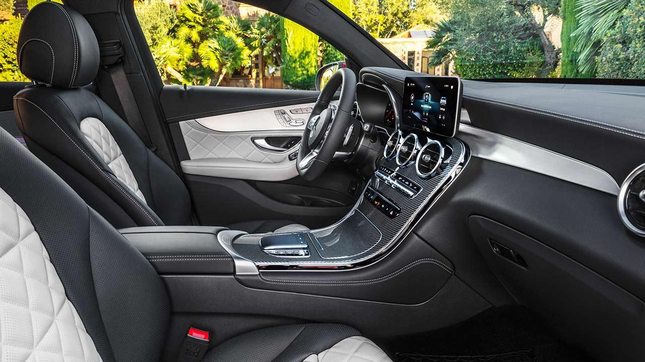 Mercedes-Benz GLC Coupé - Vordersitze