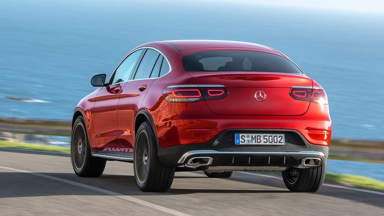 Mercedes-Benz GLC Coupé - Heckansicht