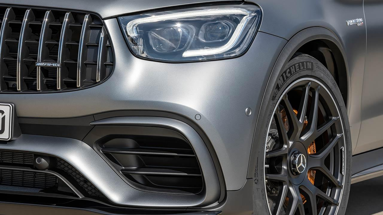 Mercedes-AMG GLC 63 Coupé - Kühlergrill