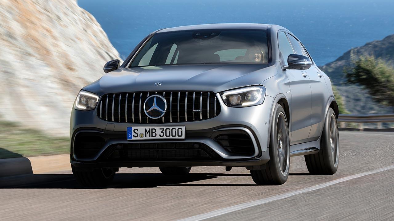 Mercedes-AMG GLC 63 Coupé - Frontansicht