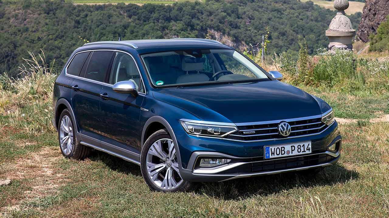 Volkswagen Passat Alltrack - Frontansicht