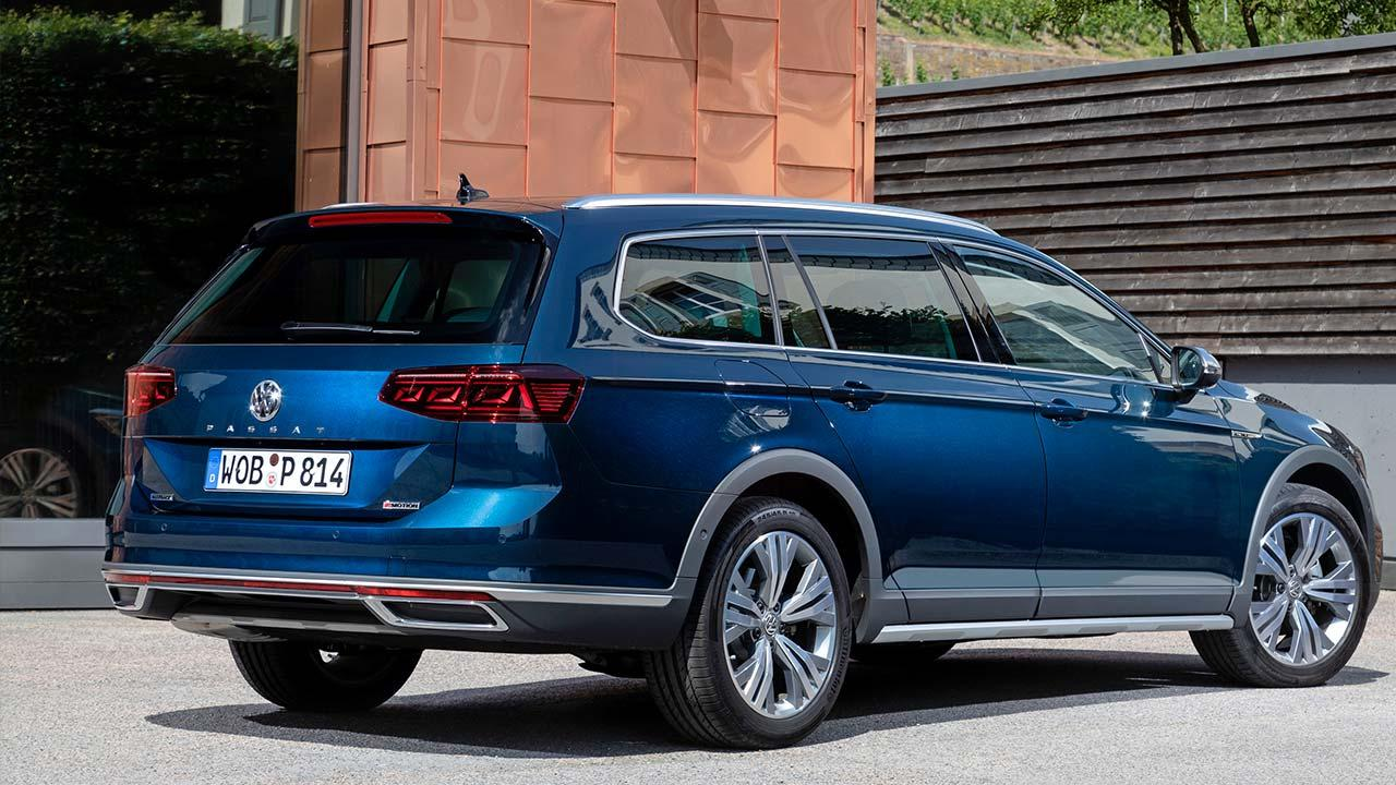 Volkswagen Passat Alltrack - Heckansicht