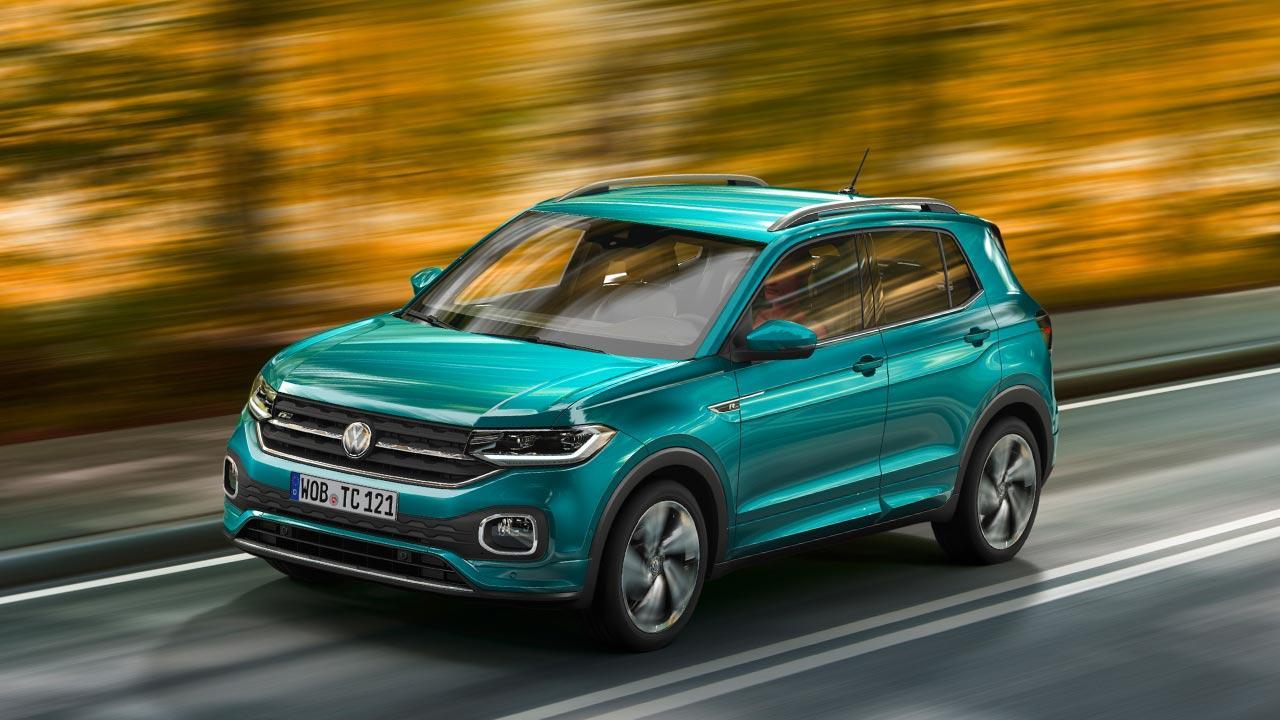 Volkswagen T-Cross - in voller Fahrt