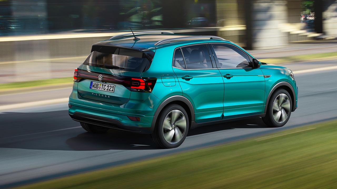 Volkswagen T-Cross - Heckansicht