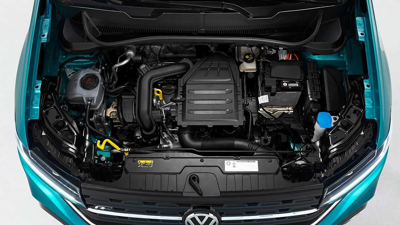 Volkswagen T-Cross - offene Motorhaube