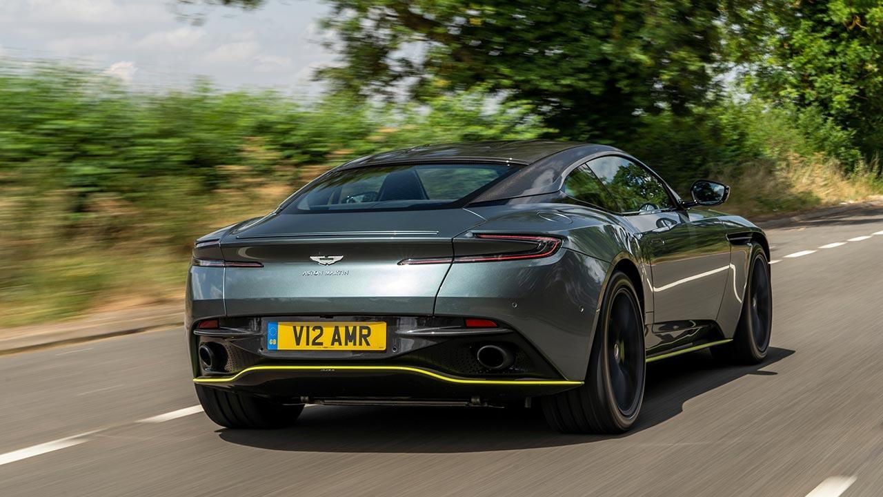Aston Martin DB11 - Heckansicht