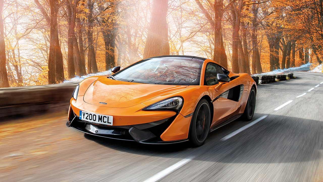 McLaren 570S Coupé - auf der herbstlichen Landstraße