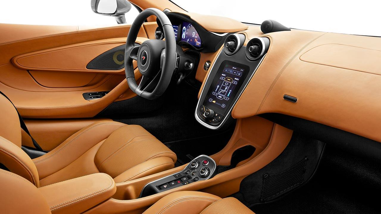 McLaren 570S Coupé - Cockpit
