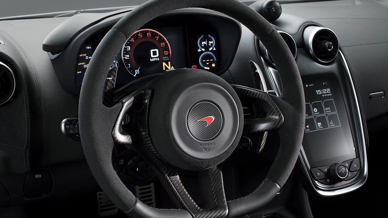 McLaren 570S Coupé - Sportlenkrad