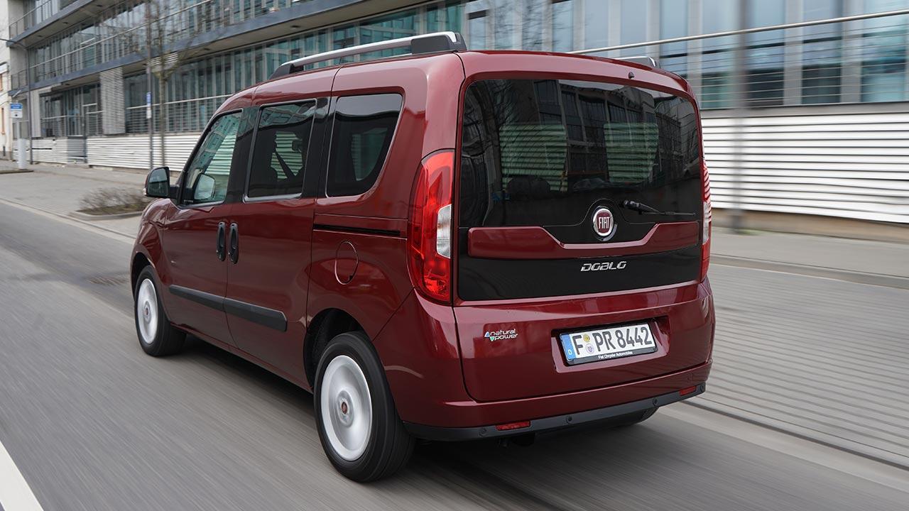 Fiat Doblò - Heckansicht