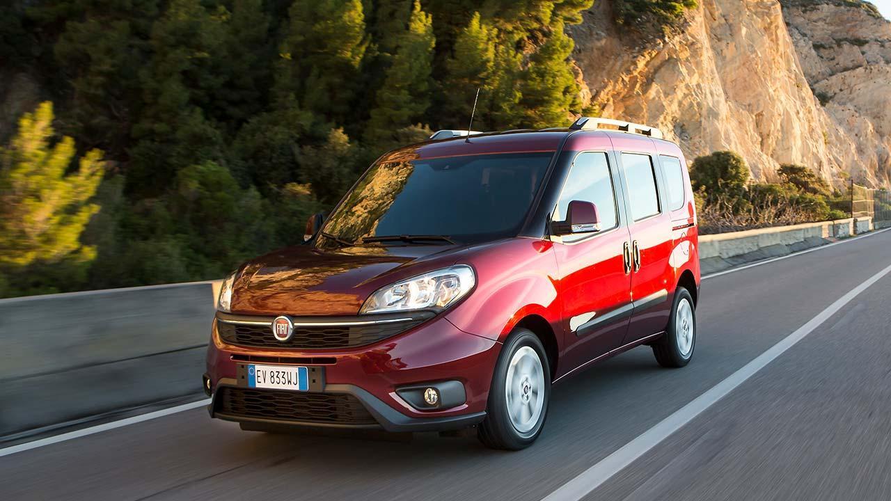 Fiat Doblò - in voller Fahrt