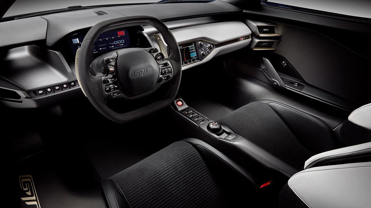 Ford GT - Cockpit