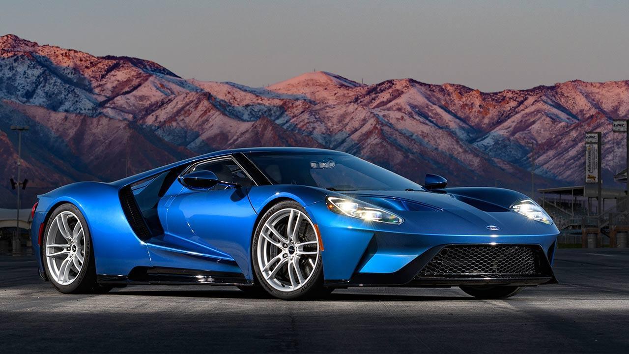 Ford GT - in blau