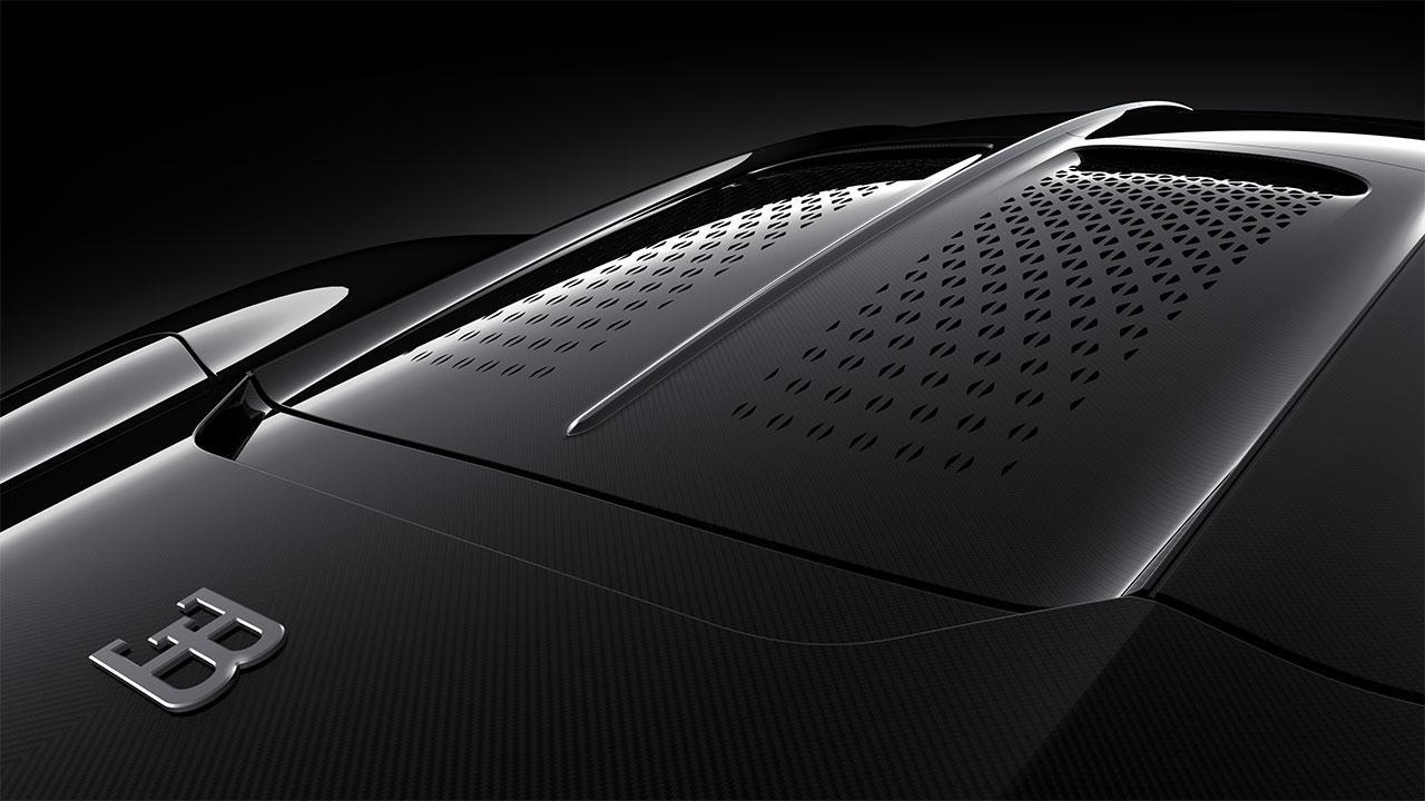 Bugatti La Voiture Noire - Heckscheibe