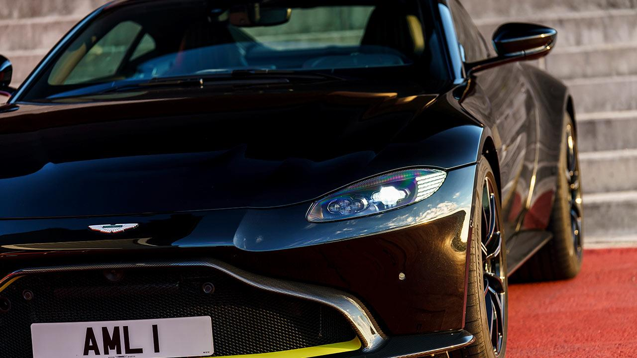 Aston Martin Vantage - Frontansicht