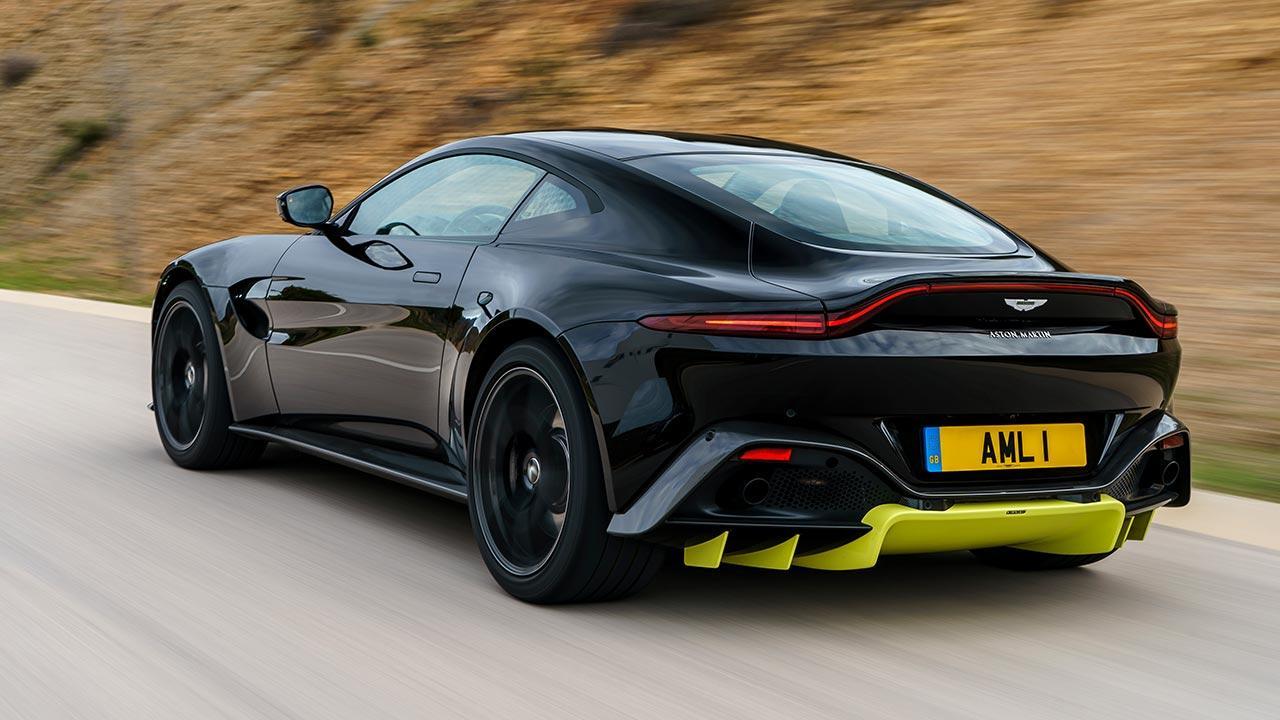 Aston Martin Vantage - Heckansicht