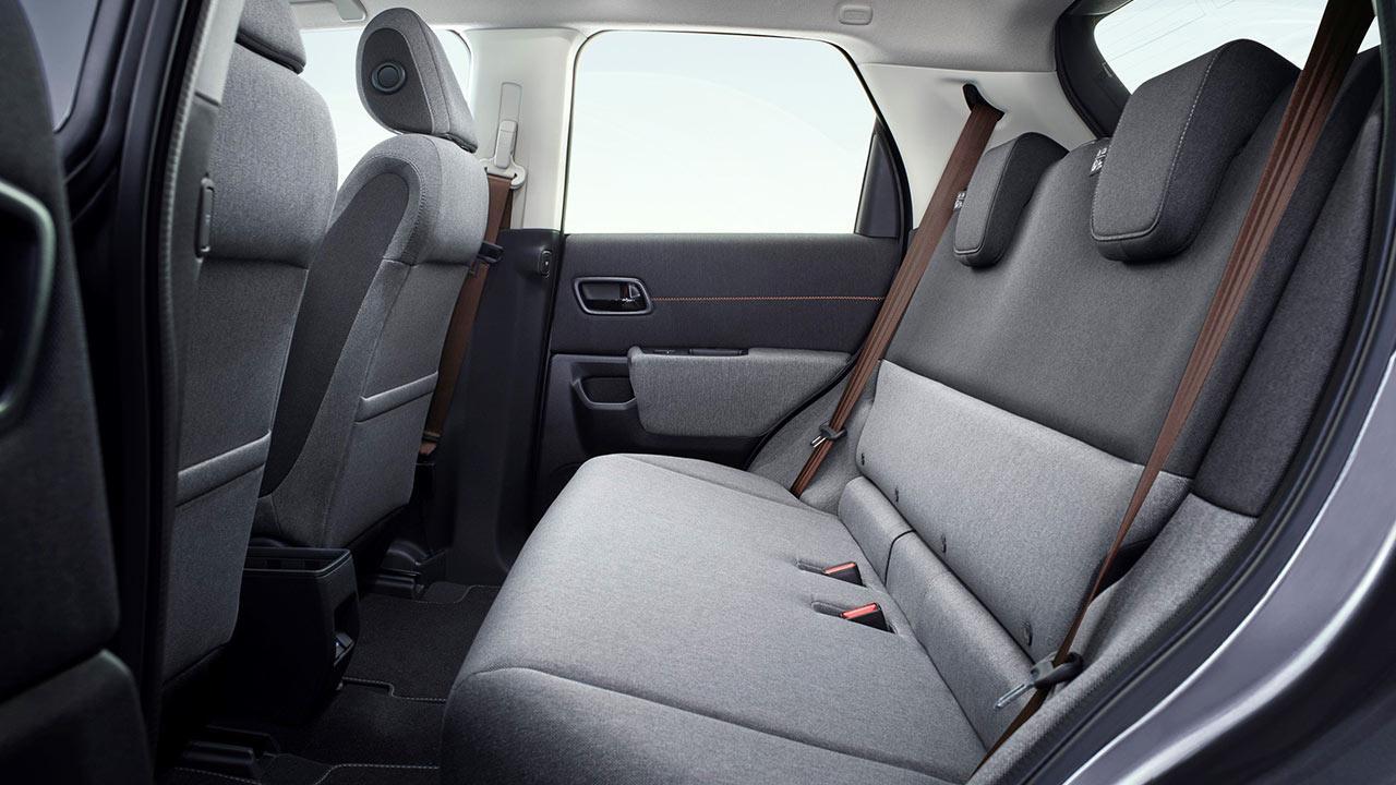 Honda e - Rücksitze