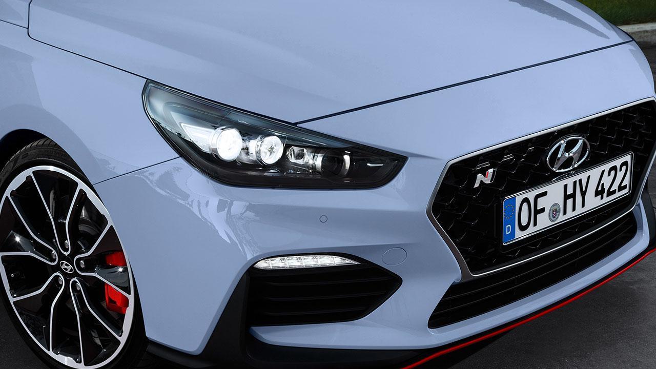 Hyundai i30 N - Frontpartie