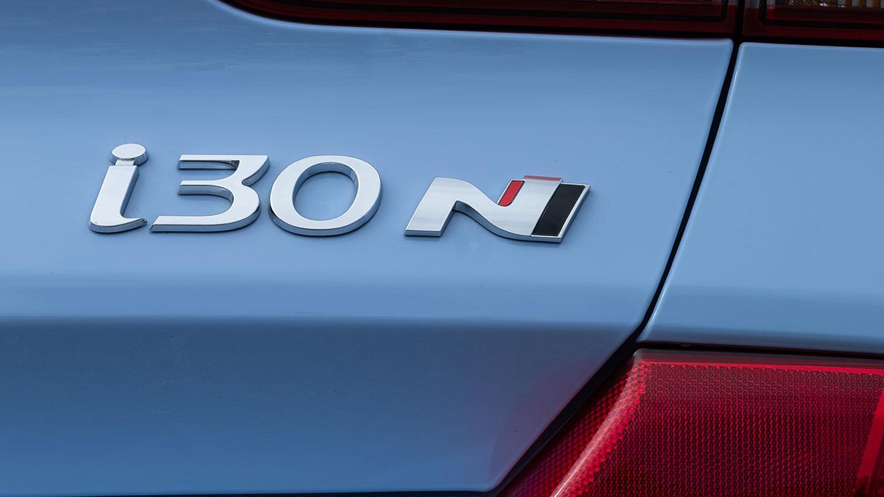 Hyundai i30 N - Schriftzug