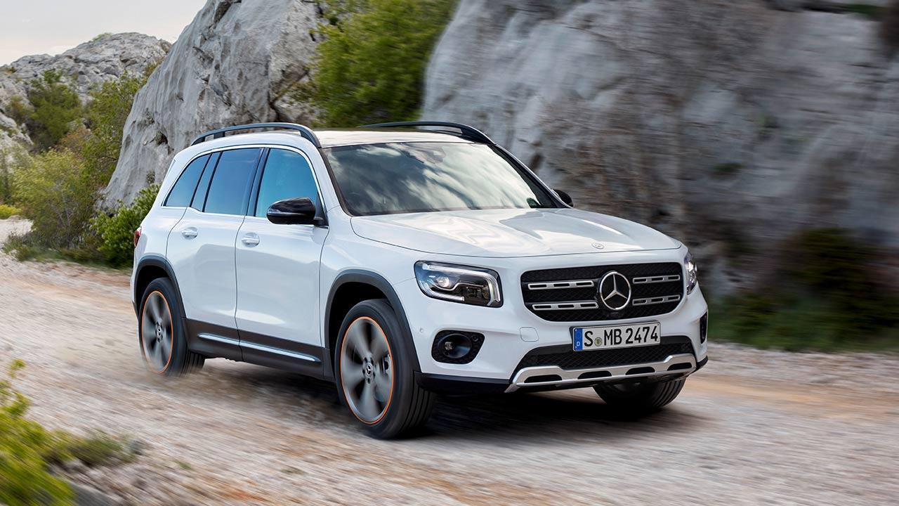 Mercedes-Benz GLB - in voller Fahrt