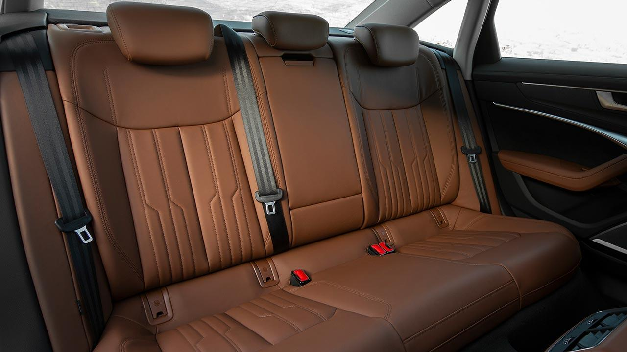 Audi A6 Limousine - Rücksitze