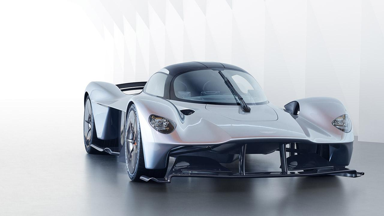 Aston Martin Valkyrie - Frontansicht