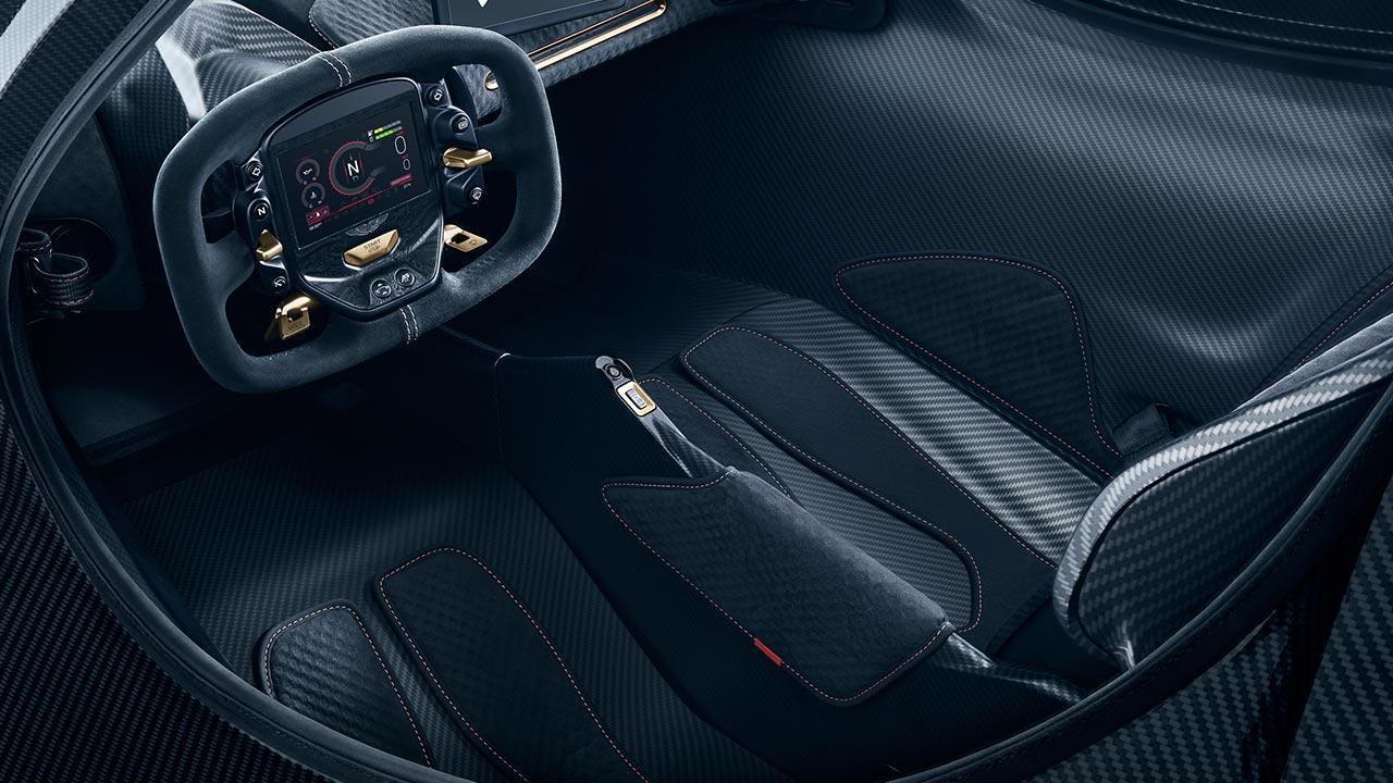 Aston Martin Valkyrie - Cockpit