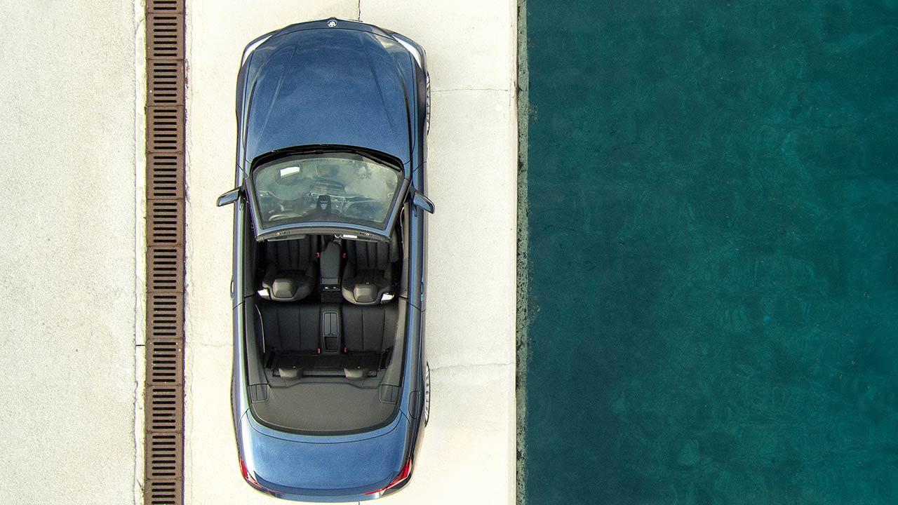 Alpina B4 S Bi-Turbo Cabrio - von oben