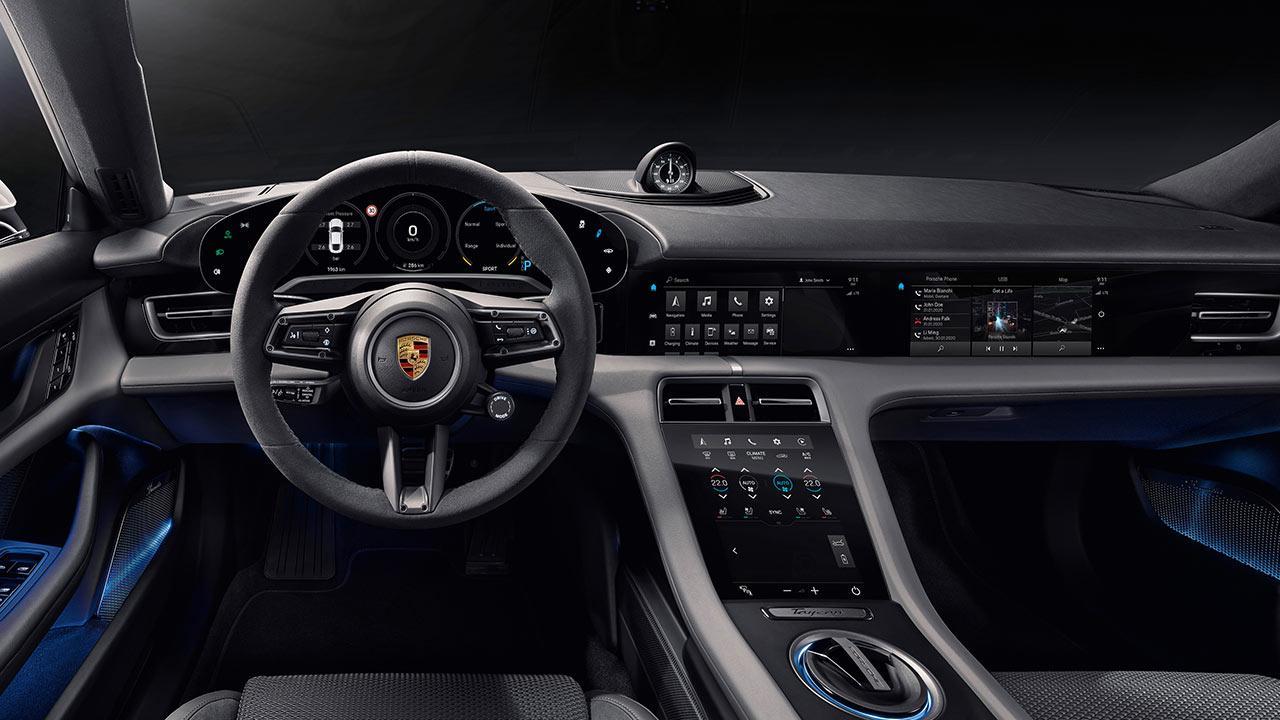 Porsche Taycan Turbo S - Cockpit