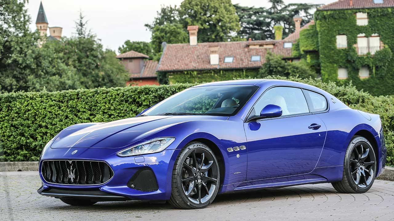 Maserati GranTurismo Sport - Seitenansicht