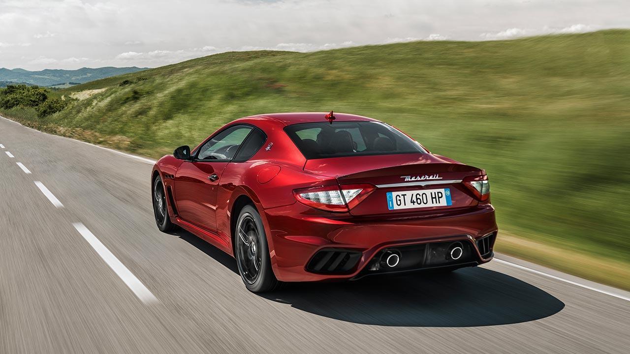 Maserati GranTurismo MC - in voller Fahrt