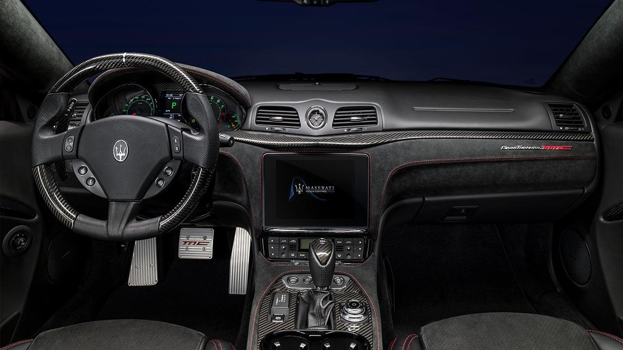 Maserati GranTurismo MC - Cockpit
