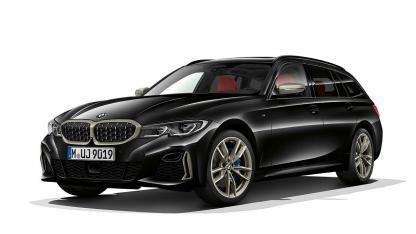 BMW M340i xDrive Touring - seitliche Frontansicht
