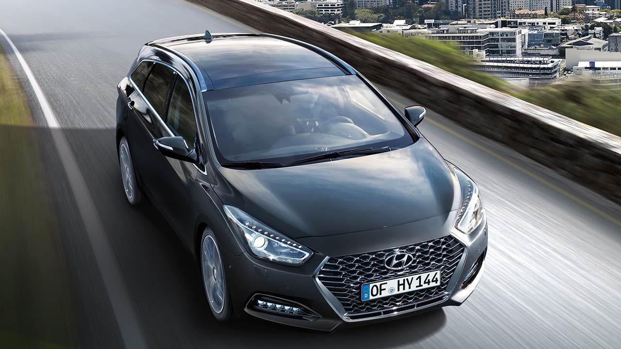 Hyundai i40 Kombi Space - in voller Fahrt