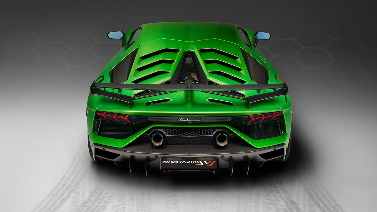 Lamborghini Aventador SVJ - Heckansicht
