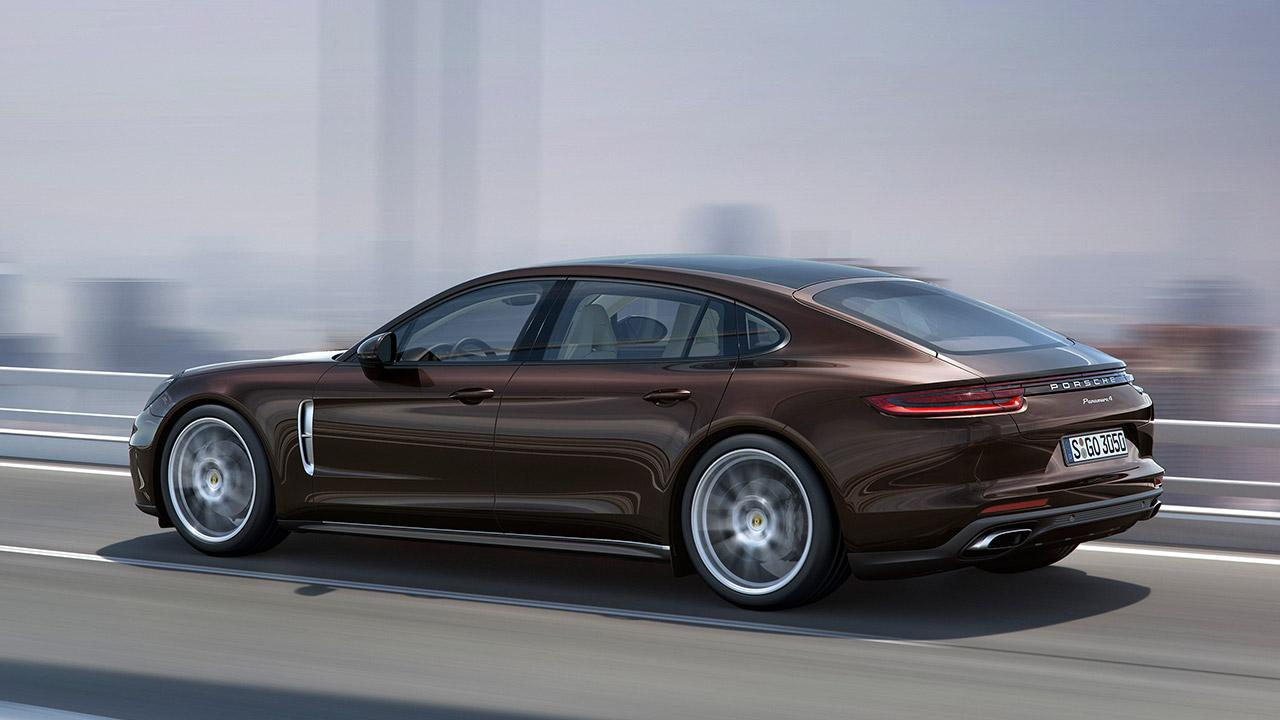 Porsche Panamera 4 Executive - Heckansicht