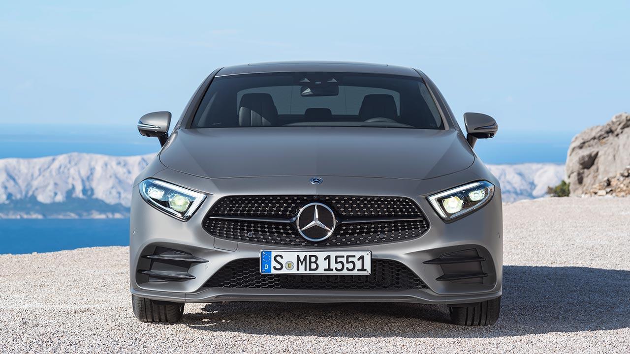 Mercedes-Benz CLS Coupé - Frontansicht