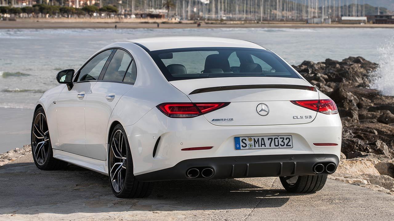 Mercedes-AMG CLS 53 4MATIC+ Coupé - Heckansicht