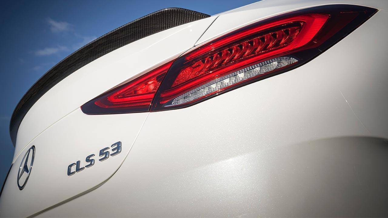Mercedes-AMG CLS 53 4MATIC+ Coupé - Schriftzug